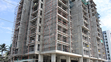 Project Live Status gold tower near palarivattom