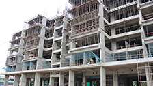 Project Live Status gold tower flat near palarivattom cochin