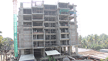 Project Live Status gold tower flat near palarivattom kochi