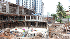 Project Live Status of gold tower