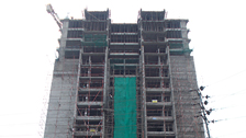 Project Live Status gold tower apartment vazhakkala