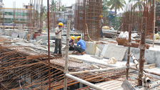 Project Live Status of gold tower kochi