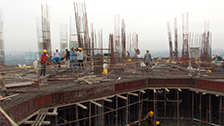 Project Live Status  gold tower flat vazhakkala