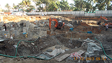 Project Live Status of gold tower near palarivattom cochin