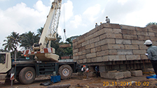 Project Live Status of gold tower near palarivattom