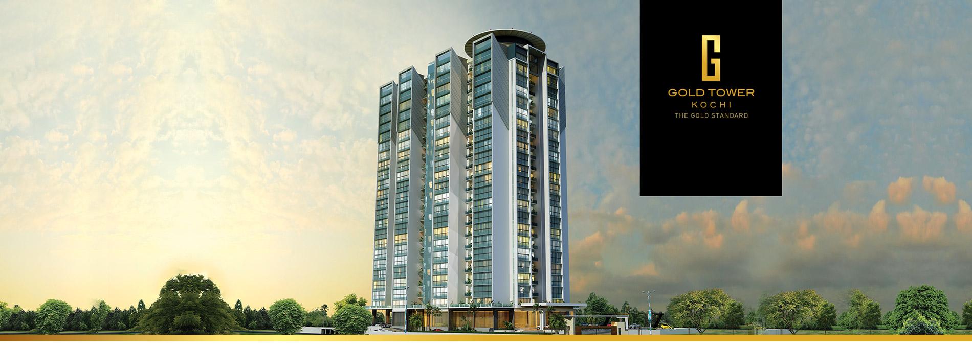 Image of  Joyalukkas developers - Gold tower apartment  kochi